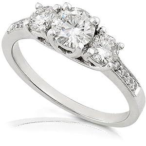Amazon White Gold Wedding Bands 91 Epic Diamond engagement rings on
