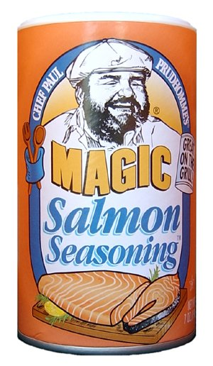 Chef Paul Prudhomme's Magic Seasoning Blends ~ Salmon Magic, 7-Ounce Canister