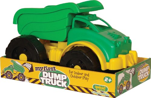 Amloid My First Dump Truck in Platform Package, Colors May Vary