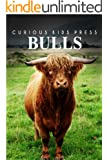 Bulls - Sandie Lee Books (children's animal books age 4-6, wildlife photography, animal books nonfiction) (English Edition)