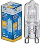 10 x G9 25w Clear Halogen Lamps Light...