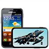 AV-8B Harrier US Navy Plane Hard Case Clip On Back Cover For Samsung Galaxy ACE 2 i8160