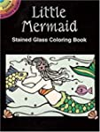 Little Mermaid Stained Glass Coloring...