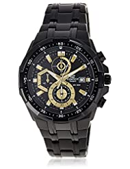 Casio Edifice Chronograph Multi-Colour Dial Men's Watch - EFR-539BK-1AVUDF (EX187)