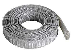 Gaine pour cable flexible 20mm x 5m gris