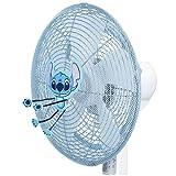 キャラクター 扇風機 カバー Stitch スティッチ (吹流しタイプ) ブルー