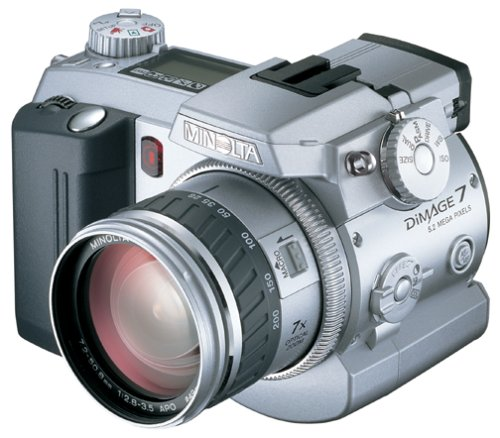 Minolta Dimage 7 Digital Camera  [5.2MP 7.1xOptical]