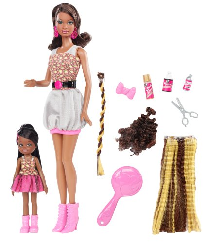 Hot Barbie So In Style Locks of Looks Grace and Courtney