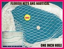 6 X 25 Fishing Net, Fish Net, Netting for Golf Backstop, Softball, Sports, Cage