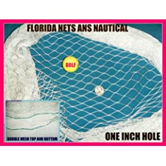 Buy 20'x12' Golf Net,impact,backstop, Hockey, Barrier, Sports, La Crosse, Soccer Goal,... by Florida Nets