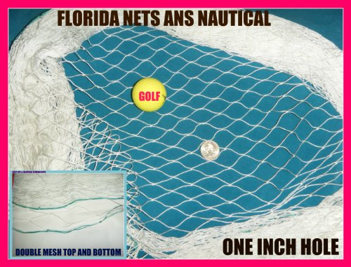 Fishing Net Used for Golf. Lacrosse and Sports, Choose Your Length. (6' x 12')