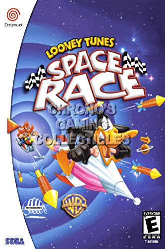 CGC Huge Poster - Looney Tunes Space Race - Sega Dreamcast DC - SDC062 (24