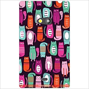 Design Worlds Back Case Cover For Nokia Lumia 625