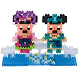 2015年 ディズニー七夕デイズ ミッキーマウス&ミニーマウス ナノブロック 彦星 織姫【東京ディズニーリゾート限定】