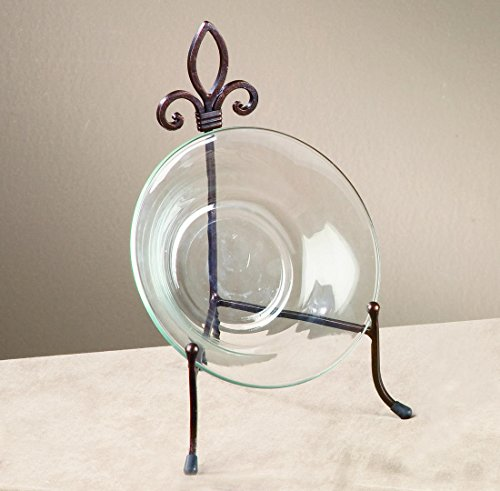 Large York Metal Stand for Books, Bowls, or Platters (Decorative Display Plates compare prices)