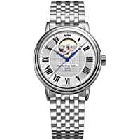 Raymond Weil Men's 'Maestro' Swiss Automatic Stainless Steel Dress Watch