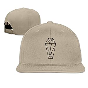 Flat-along Adjustable Geometric Coffin Caps Hat World