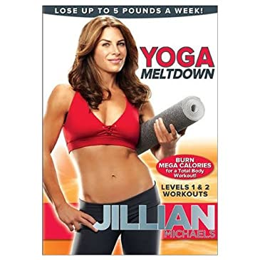 Jillian Michaels 'Yoga Meltdown' DVD