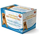 Puppy Training Pads Pack Of 100 Also For Dogs And Pets|These Are A Heavy Duty Pad|This New Unique 5 Layer Solution Protects Laminated Floor Carpets From Smell|Go And Buy Guarantee Giving...