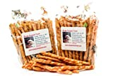 Chicken Wrapped Rawhide Chews Natural Dog Treats by Lucky Premium Treats for Small Dogs, Made in USA, 100 Chews