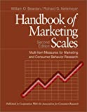 img - for Handbook of Marketing Scales: Multi-Item Measures for Marketing and Consumer Behavior Research:2nd (Second) edition book / textbook / text book