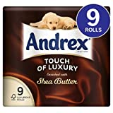 Andrex Touch of Luxury Shea Butter Toilet Tissue 9 per pack case of 4