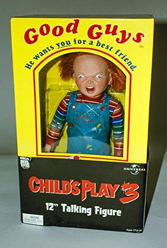 Talking Good Guys Chucky Child's Play 3 Action Figure Doll (Chucky Dolls)