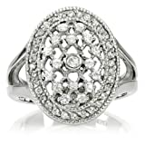 Inspired by Twilight Engagement Ring: Bella's Wedding Ring - Silver - 7