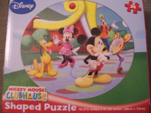 "Disney Mickey Mouse Clubhouse Shaped Puzzle ""Looking Pretty"""