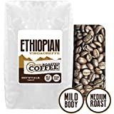 Ethiopian Yirgacheffe Coffee, Whole Bean, Fresh Roasted Coffee LLC (2 lb.)