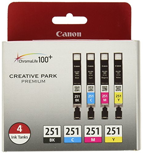 video review canon cli 251 creative park premium ink. Black Bedroom Furniture Sets. Home Design Ideas