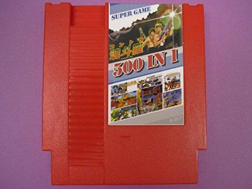 500 in 1 Nintendo NES Game Cartridge! Includes Contra, Mario, Pacman TMNT + More!