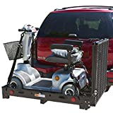 Deluxe SC500-V3 Power Scooter Wheelchair Hitch Cargo Carrier Rack