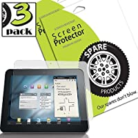 Spare Products Screen Protector Film for Samsung Galaxy Tab 8.9 - (3 Pack) Anti-Fingerprint