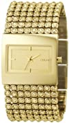DKNY Womens NY4662 Gold Gold Tone Stainles-Steel Quartz