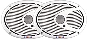 Dual DMS692 6 x 9-Inch 2-way 200 Watt Poly, Marinized, Marine Speakers