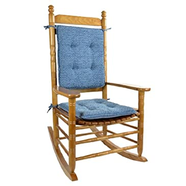 Rocking Chair Cushion Set - Blue
