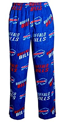 "Buffalo Bills NFL ""Playoff"" Men's Micro Fleece Pajama Pants"