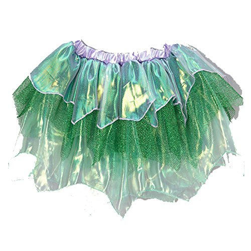 Girls Green Mermaid Tutu