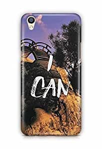 YuBingo I Can Designer Mobile Case Back Cover for Oppo F1 Plus
