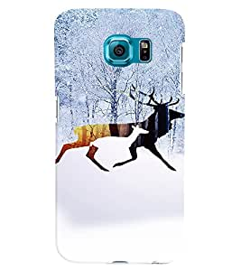 PRINTVISA Abstract Swag Deer Case Cover for Samsung Galaxy Note 5 Edge