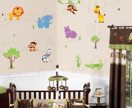 Safari Themed Kids Room front-1078833