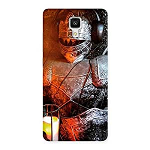 Ajay Enterprises Suit of Warrior Knight Back Case Cover for Xiaomi Mi 4