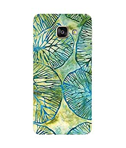 Green And Blue Samsung Galaxy A7 2016 Edition Case