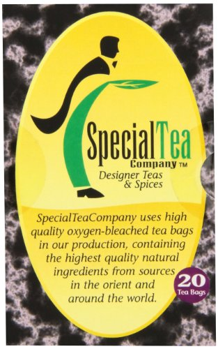 Special Tea Organic Gourmet Tea Bags, Pu Erh Leaf, 20 Count