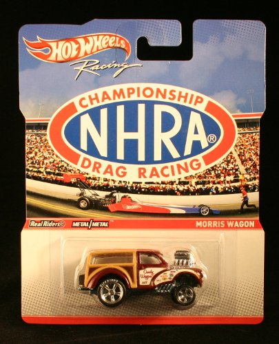 Hot Wheels Championship Drag Racing NHRA Morris Candy Wagon