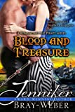 img - for Blood and Treasure: A Romancing the Pirate Novel book / textbook / text book