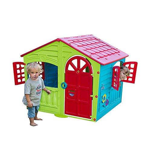 Children Kids Plastic Indoor Outdoor Cottage Playhouse ...