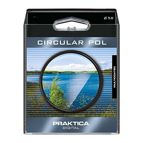 B+W Praktika - Filtro rotondo polarizzato con rivestimento multistrato, 52 mm