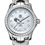 TAG HEUER watch:Holy Cross TAG Heuer Watch - Women's Link with Diamond Bezel at M.LaHart
